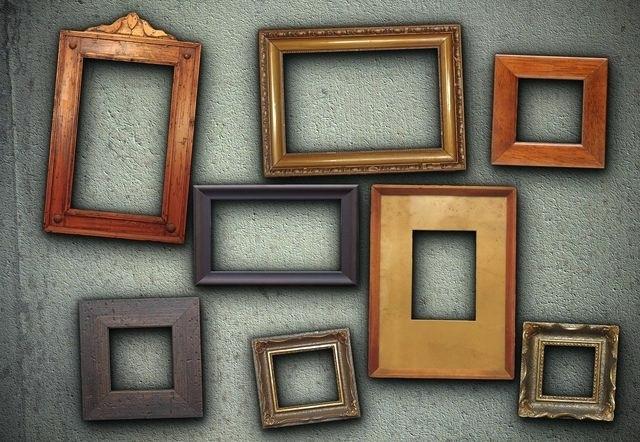 cách chọn khung tranht treo tường