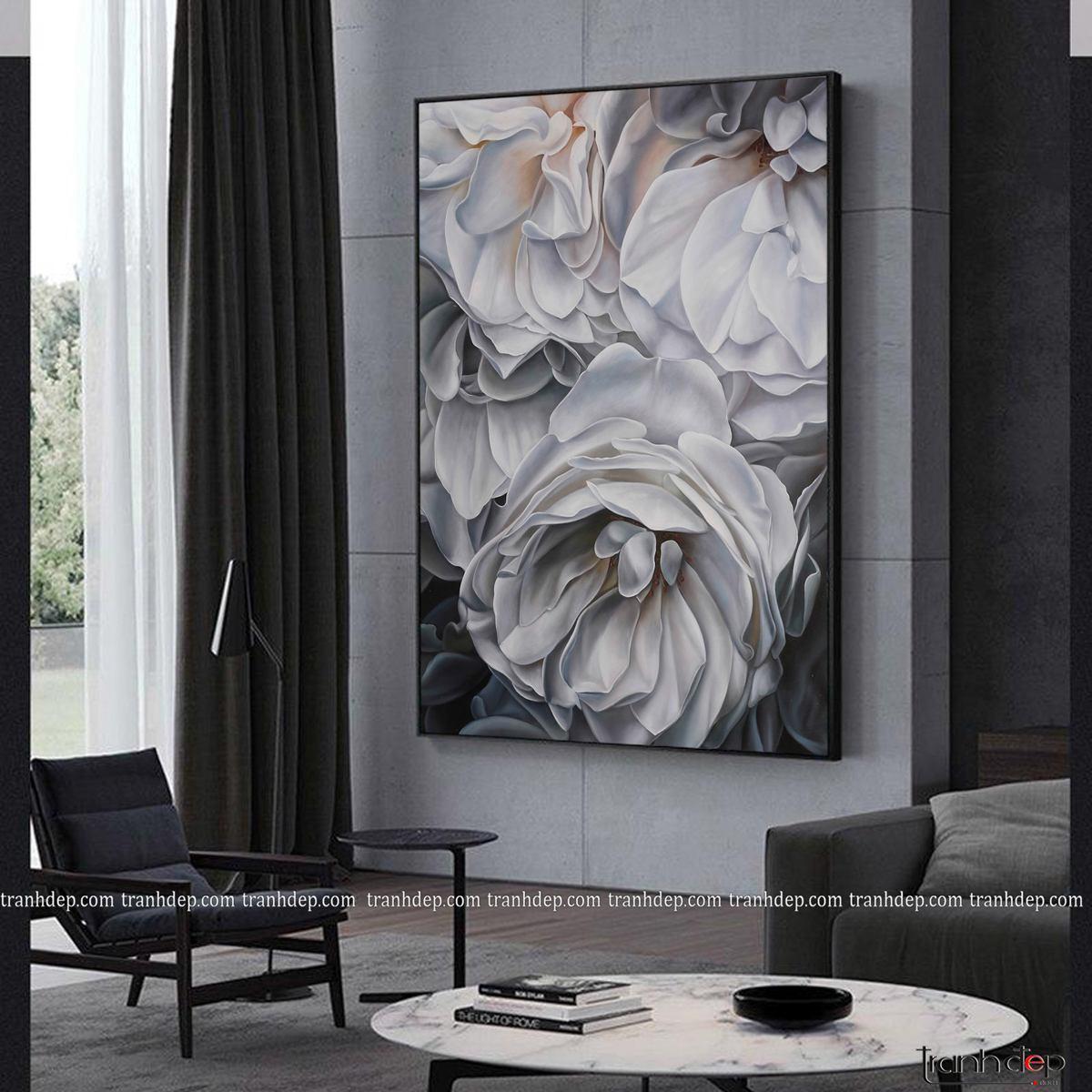 tranh hoa phong cách Bắc Âu