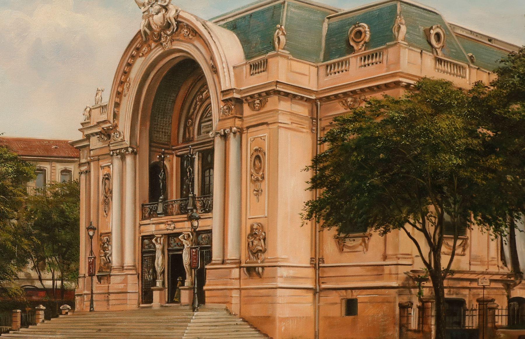 Cận cảnh vẻ đẹp nhà hát lớn Sài Gòn