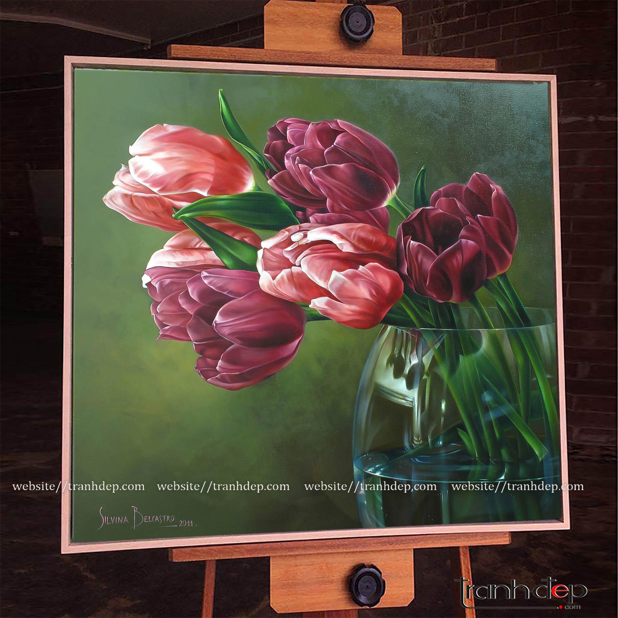 Bức tranh hoa chứa đựng nhiều ý nghĩa