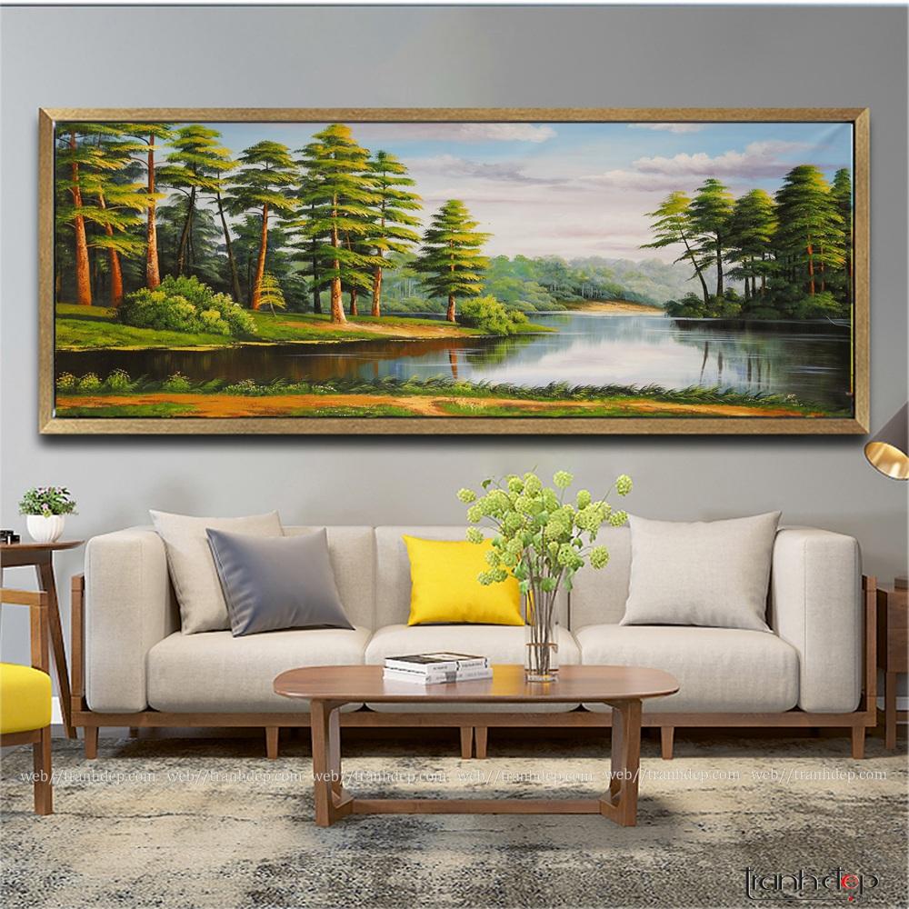 tranh phong cảnh rừng cây