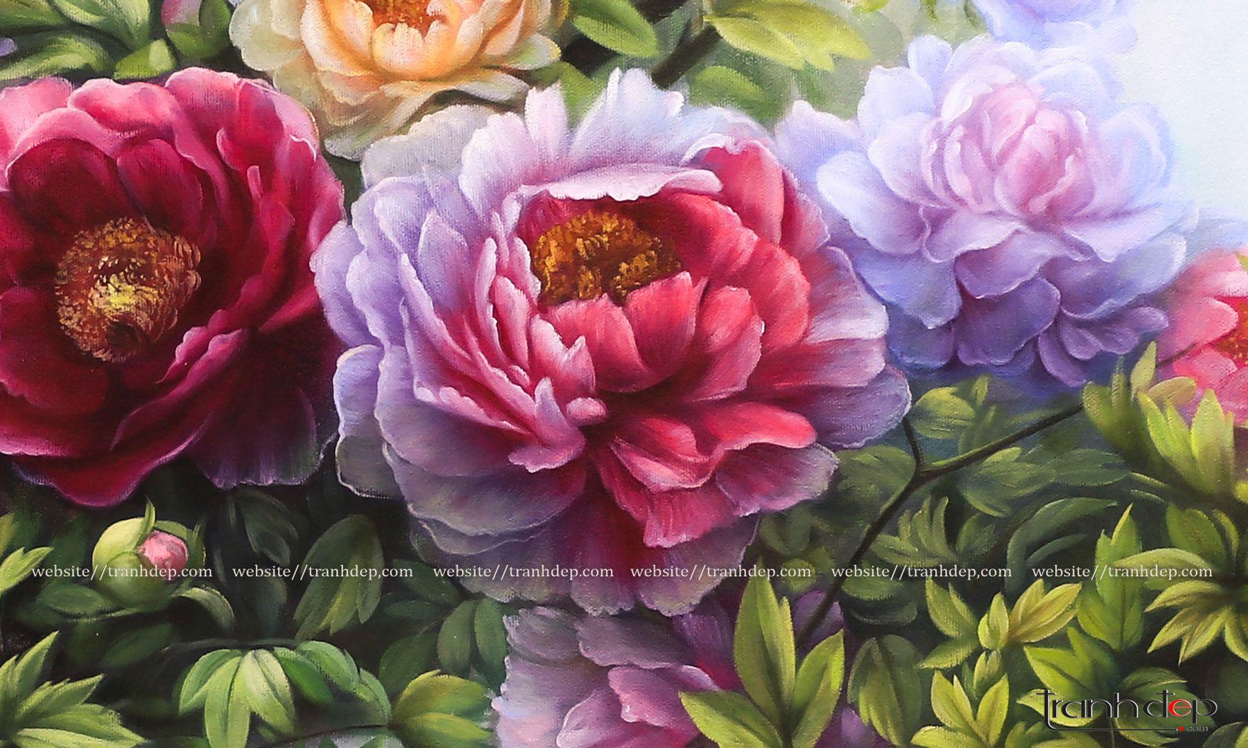 Những bông hoa sinh động, đẹp mắt