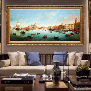 Tranh phong cảnh biển Venice Châu Âu