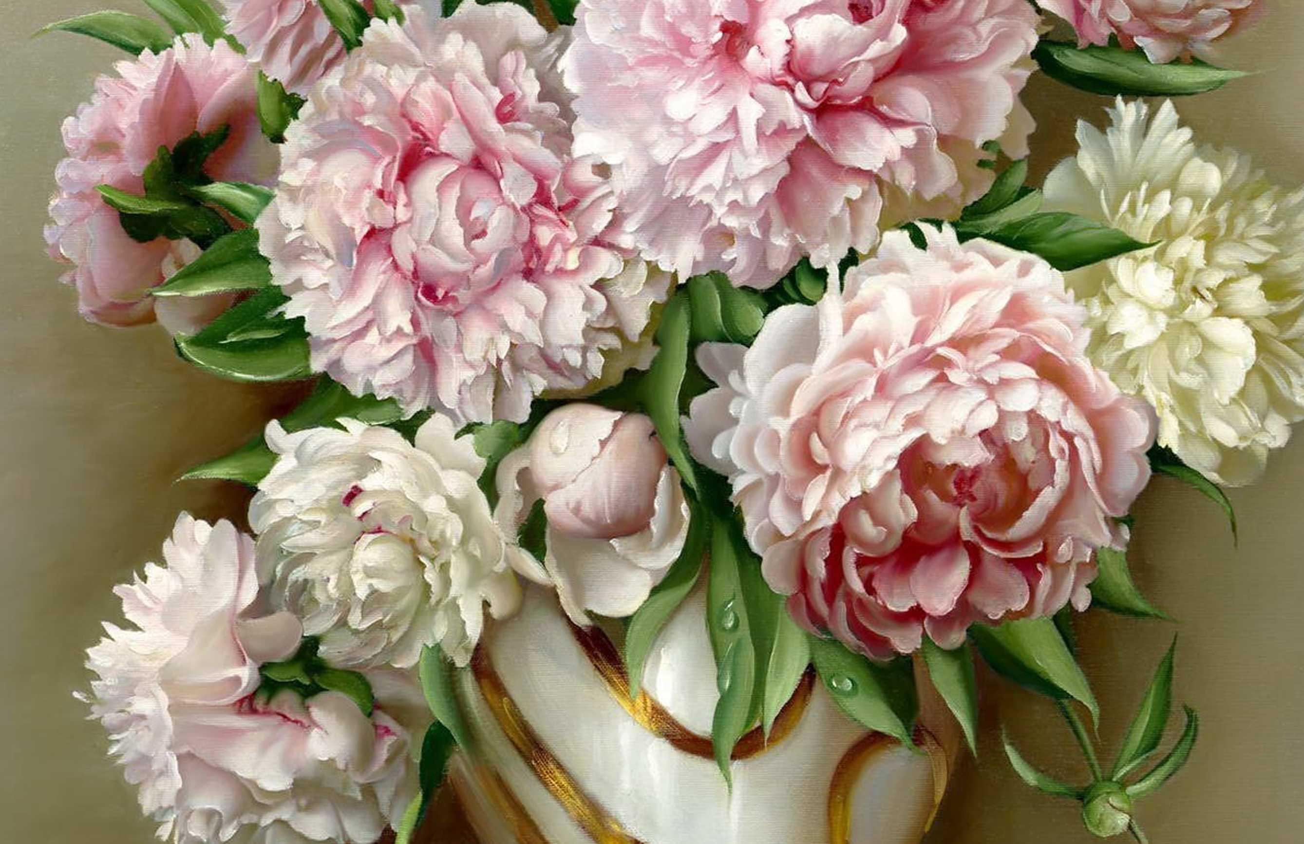 Những đóa hoa nở rộ ngát hương
