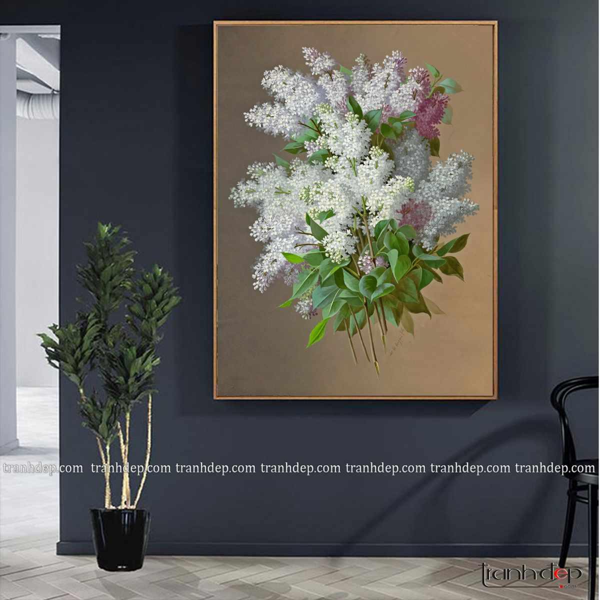 tranh tinh vat hoa