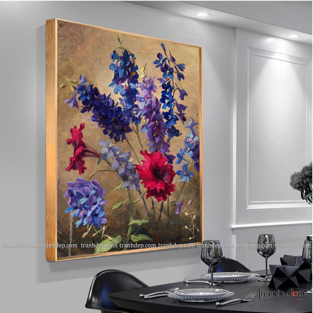 hoa violet tím