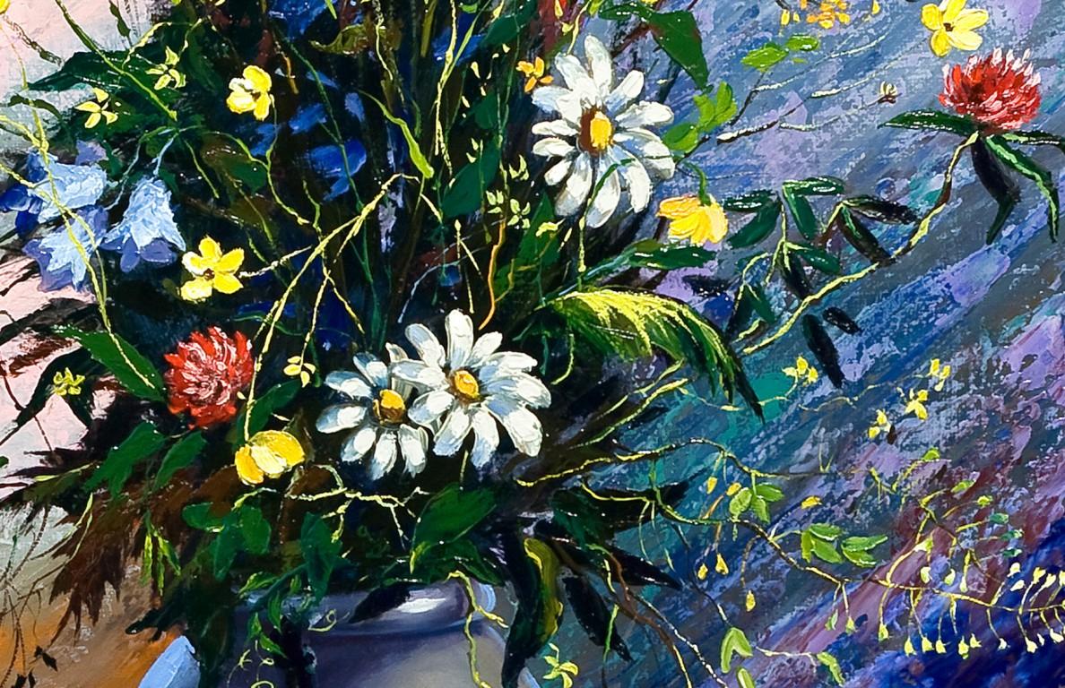 tranh tinh vat hoa cuc