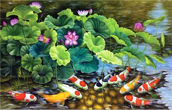 Tranh Phong Thủy Cho Người Tuổi Tỵ