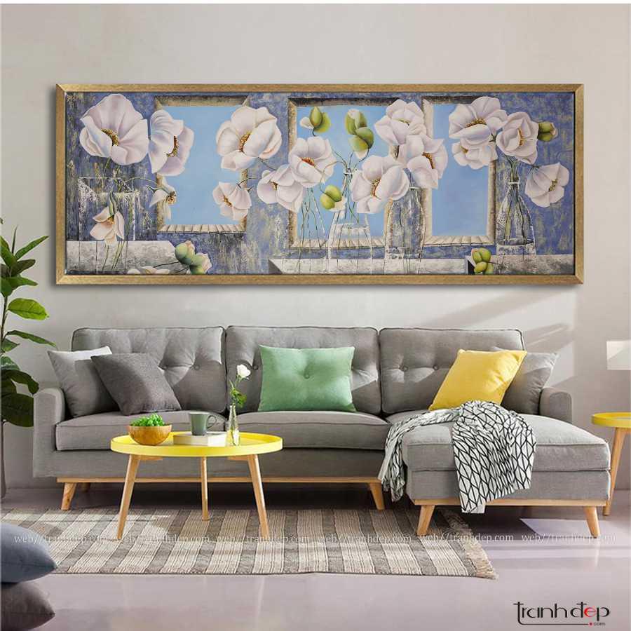 Bức tranh hoa poppy tuyệt đẹp