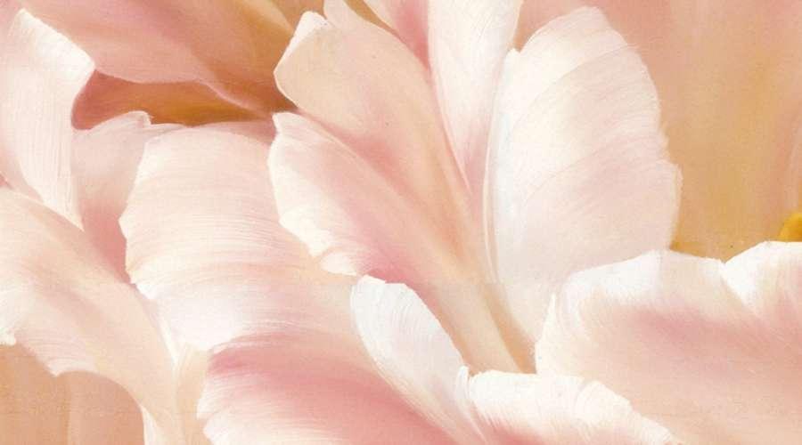 tranh hoa tra dep treo phong khach sang trong