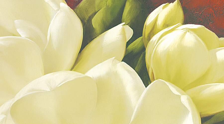 tranh hoa tra tong vang kem treo phong ngu tuyet dep