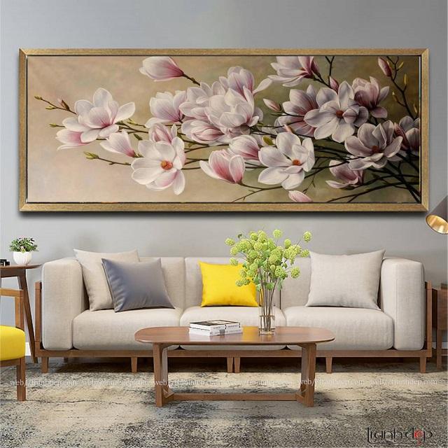 tranh hoa lan