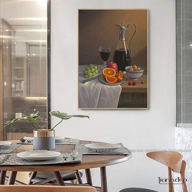 tranh treo tường phòng bếp