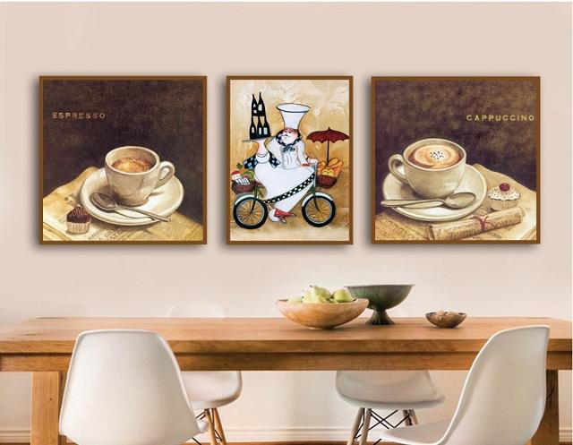 tranh treo quán cafe